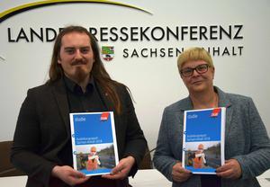 Fabian Pfister und Susanne Wiedemeyer