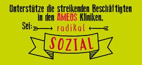 Flyer Aufruf Kundgebung Solidarität mit AMEOS-Beschäftigten