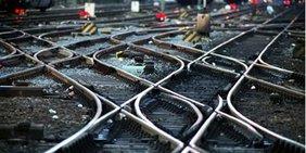 Schienen Infrastruktur