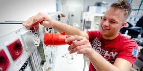 Elektriker in Ausbildung