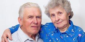 Älteres Paar, Mann und Frau